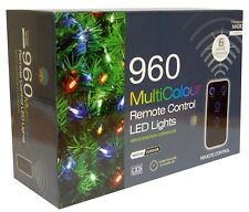 RC Christmas Xmas Bright Multi Colour LED String Lights indoor Outdoor Tree Deco