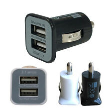 Hot Sale Universal Dual 2 Port USB 3.1A Mini Car Charger Adapter For Phone iPad