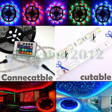 3528 12V 5M Light Strip 300 SMD Roll Tape Car Outdoor Party LED Waterproof DIY