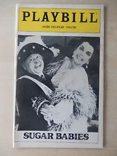 January 1980 - Mark Hellinger Theatre Playbill - Sugar Babies - Rooney - Miller