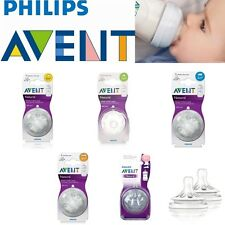 Avent Baby Natural Anti-Colic Infant Milk Bottle Easy Silicone Latch On Teats