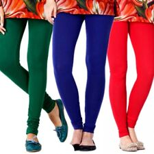 Womens Thick Warm Full Length Cotton Leggings UK Size 6-26 & All Colours *ctnlg