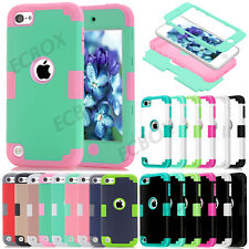 New Armor Heavy Duty Shockproof Hard Combo Case Cover For iPod Touch 5 / Touch 6