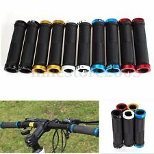 1 Pair Cycling Mountain MTB BMX Bike Bicycle Rubber Lock On Handlebar End Grip