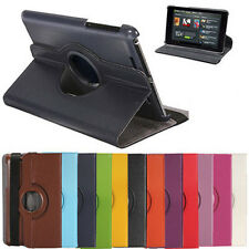 360 Rotating Smart Leather Case Cover with Stand For Google Asus Nexus 7 1 1st
