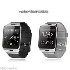 Bluetooth Smart Watch Unlocked Camera SIM Phone Watch Phone Mate for Android IOS