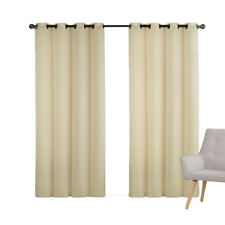 Gold Chevron Jacquard Embroidered Window Grommet Panel(Set of 2 Panels)