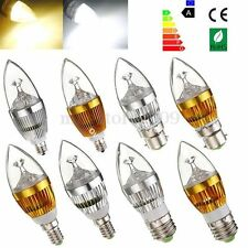 10xE27 E14 E12 B22 LED Dimmable 3W 6W 9W High Power Chandelier Candle Bulb Light