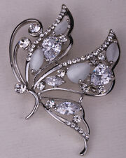 Butterfly brooch pin cute bling fashion jewelry gift for her WP14 dropshipping