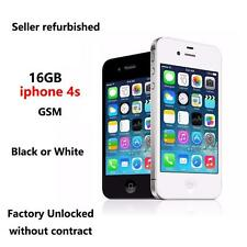 Hot~ Apple iPhone 4S 16GB Factory Unlocked Smartphone Black or White ( Great A )