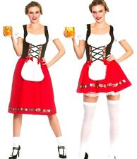 Adult OKTOBERFEST Bavarian Man Sexy Ladies Beer Lederhosen Fancy Dress Costume