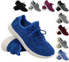 NEW WOMENS LADIES RUNNING TRAINERS FITNESS GYM SPORTS BOOST INSPIRED SHOES