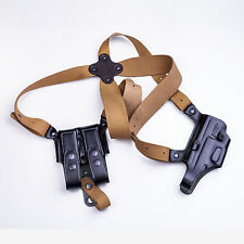The DM Executive - KIRO Leather Shoulder Holster & DMP for Glock 17, 22 & 31