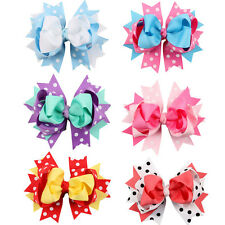 Princess Headdress :Infant Toddler Baby Girls Bowknot Hairpin Barrette Hair Clip