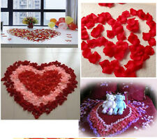 100pcs Silk Rose Flower Petals Leaves Wedding Birthday Party Table Decorations B