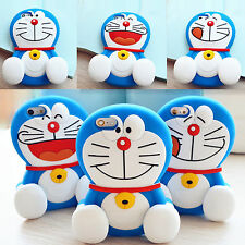 3D Japan cartoon animals doraemon Lucky kitty cat soft silicone case For Iphone