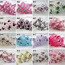 "7/8""--1"" 22MM--25MM Mixed Kitty Grosgrain Ribbon Craft 16 Designs For Hairbow"