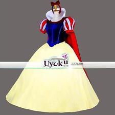 New Halloween Adult Party Fancy Dress Snow white Princess Dress Cosplay Costume