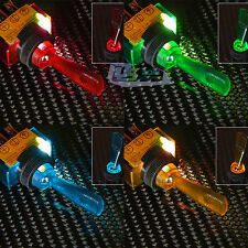 1/5PCS 12V Flick Toggle Switch On/Off Illuminated Light Up Dash Board Panel Car