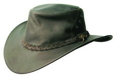 Kakadu Hat off Kangaroo leather seconds Stains, broken Wheel, Australian made