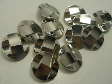 New lots of Silver Metal Buttons sizes 5/8  7/8 1 1/8  inch Blazer coat # SM