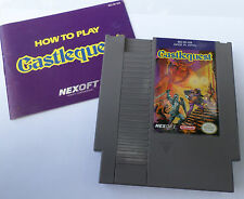 Castlequest (Nintendo NES, 1989)*****WITH BOOKLET*****TESTED!!!!!