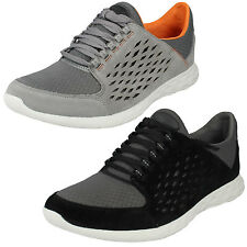 MENS CLARKS LACE UP SUEDE CASUAL SHOES LIGHTWEIGHT WALKING TRAINERS SEREMAX LACE