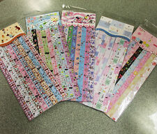 1 Pack (135 strips) Folding Lucky Wish Star Cute Origami Paper Ribbon Scrapbook