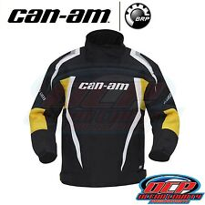 NEW CAN AM CAN-AM BLACK / YELLOW WINTER RIDING JACKET ATV SIDE BY SIDE