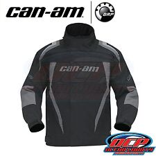 NEW CAN AM CAN-AM BLACK / GREY WINTER RIDING JACKET ATV SIDE BY SIDE