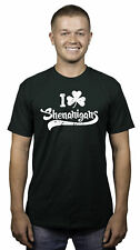 Mens I Clover Shenanigans Funny Irish St Patricks Day T shirt (Forest Green)