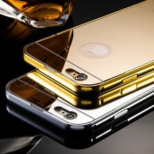 Mirror Ultra-thin Metal Thin Case Cover for Apple iPhone 5/5S/6/6S/6Plus/6SPLUS