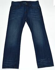 G-Star Raw Men's 3301 Slim Straight Fit Jean In Neill Aged Jeans