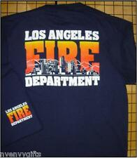 NEW NAVY LAFD HOLLYWOOD SKYLINE T-SHIRT LOS ANGELES FIRE DEPT ADULT TEE