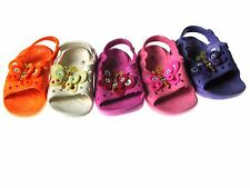 Adorable Casual Girls Baby Toddler Clogs  Sandals Slippers Shoes Sz 5-10