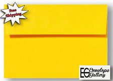 Astrobrights Sunburst Yellow Envelopes for Invitation Announcement A2 A6 A7