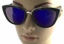 Womens My Trendy Girl Cat Eye Victoria Big Large Celebrity Sunglasses Gold Rim
