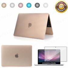 Rubberized Matt Hard Cases Shell For MacBook Pro 13 15 Air 11 12 Retina Colors