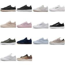 Reebok Club C 85 Vintage Chalk Mens Retro Casual Shoes Sneakers Trainers Pick 1