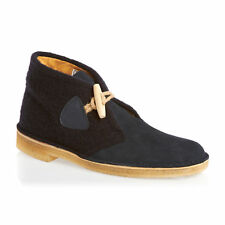 CLARKS ORIGINALS MENS DESERT DUFFLE GLOVERALL NAVY SUEDE BOOTS UK VARIOUS SIZES
