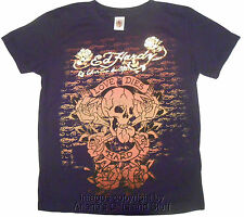 Ed Hardy by Christian Audigier Kids Black Skull T-Shirt