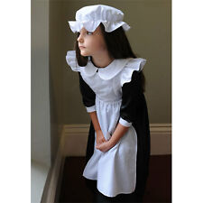 New Kids Victorian Millie Maid Girls Fancy Dress Party Costume