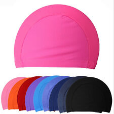 2015 New Children kids Unisex Nylon Swimming Cap Swimming Hat Elasticity FSUM