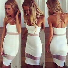 Summer Women Clothing Sexy Club Dress Backless Elegant Mini Cocktail Party Wear