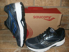 New Saucony Grid Cohesion Mens Running Shoe/Choose Silver-Royal or Navy-Black