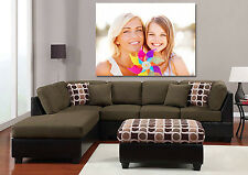Your Photo On Canvas Personalised Canvas Print UNFRAMED Canvas Only Many Sizes