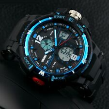 Military Rubber Waterproof Date LED Digital Quartz Army Men's Sports Wrist Watch