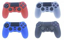 2X Silicone Rubber Soft Case Gel Skin Cover for SONY PlayStation4 PS4 Controller