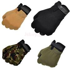 Pair Outdoor Military Tactical Riding Cycling Hunting Hiking Full Finger Gloves