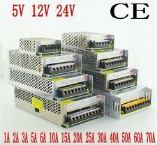 AC 100-240V DC 5V/12V/24V Universal Switching Power Supply For LED Strip /CCTV